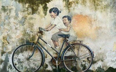 Blijf in beweging, blijf fietsen